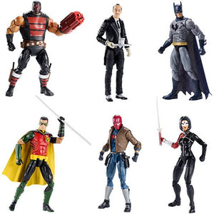 Complete Set (6 Figures) - DC Multiverse Batman 80th Wave 12 (Killer Croc BAF)