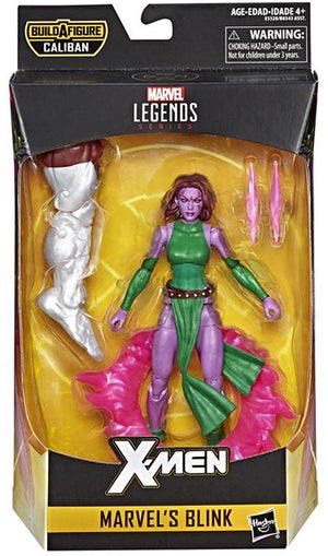Blink - X-Men Marvel Legends Wave 4 (Caliban BAF)