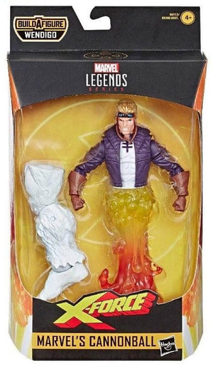 Cannonball - X-Force Marvel Legends Wave 1 (Wendigo BAF)