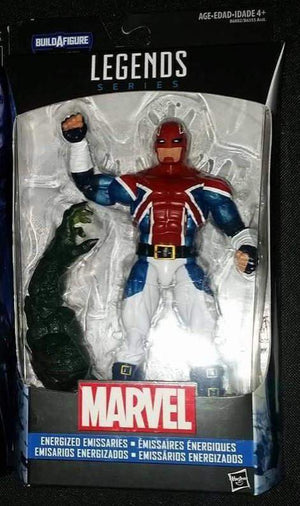 Captain Britain Energized Emissaries - Marvel Legends Captain America Wave 3