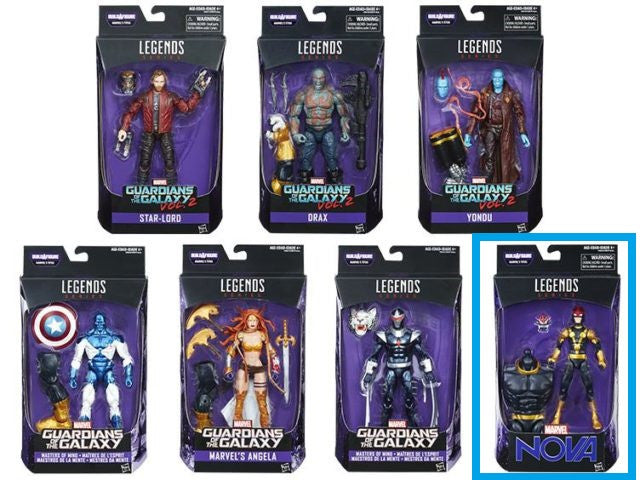 Nova - Guardians of the Galaxy Marvel Legends Wave 1