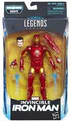 Invincible Iron Man - Black Panther Marvel Legends 6-Inch Action Figures Wave 1