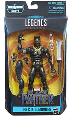 Erik Killmonger - Black Panther Marvel Legends 6-Inch Action Figures Wave 1