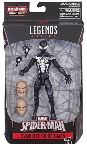 Symbiote Spider-Man - Amazing Spider-Man Marvel Legends Wave 11 (Kingpin BAF)