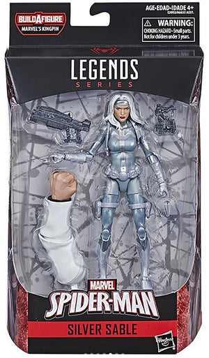 Silver Sable - Amazing Spider-Man Marvel Legends Wave 11 (Kingpin BAF)