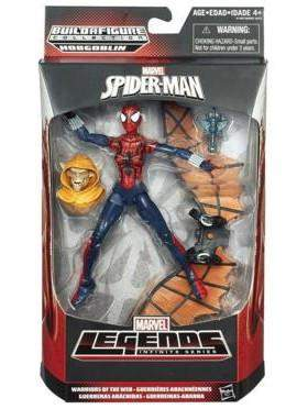 Amazing Spider-Man 2 Marvel Legends  Wave 3 Warriors Of The Web Spidergirl