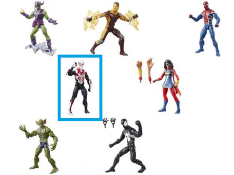 All New Spider Man 2099 -  Amazing Spider-Man Marvel Legends Figures Wave 7 (No BAF)