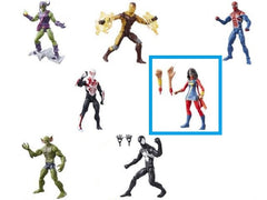 Ms Marvel -  Amazing Spider-Man Marvel Legends Figures Wave 7 (No BAF)