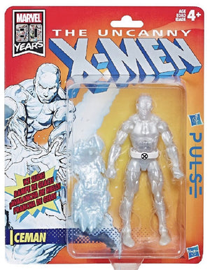 Iceman - X-Men Retro Marvel Legends Wave 1