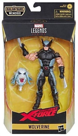 Wolverine - X-Force Marvel Legends Wave 1 (Wendigo BAF)