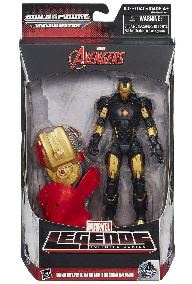 Marvels Now Iron Man-Avengers Marvel Legends Action Figures Wave 3