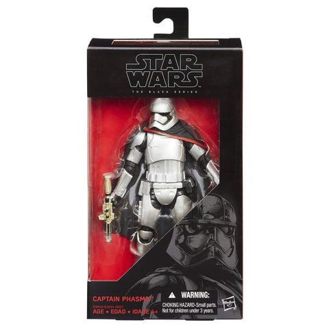 Captain Phasma Star Wars Black Series 6-Inch Wave 2 (Re-Issue)
