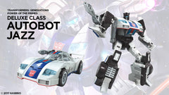 Autobot Jazz - Transformers Generations Power of the Primes Deluxe Wave 3