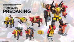 Predaking- Transformers Generations Power of the Primes TItan Class