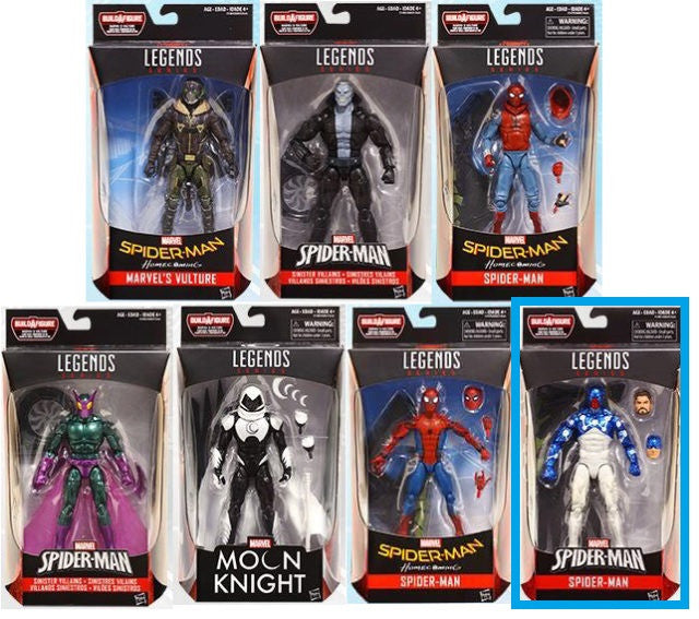 Cosmic Spider-Man - Amazing Spider-Man Marvel Legends Wave 8