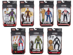 Set of 7 - Amazing Spider-Man Marvel Legends Figures Wave 7