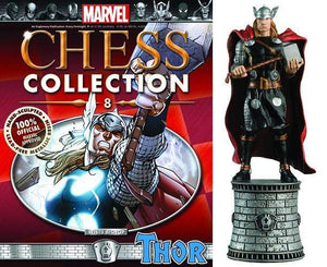 Marvel Chess Figure Collector Magazine #8 Thor - White Bishop