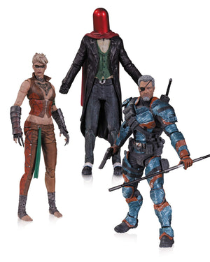 Arkham Origins 3 Pack; Deathstroke, Joker, Copperhead