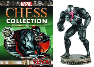 Marvel Chess Figure Collector Magazine #9 Venom Black Pawn