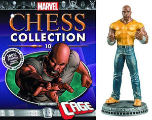 Marvel Chess Figure Collector Magazine #10 Luke Cage White Pawn