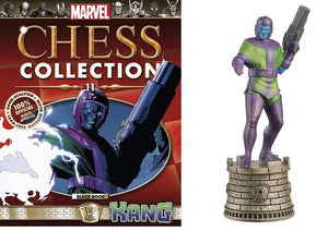 Marvel Chess Figure Collector Magazine #11 Kang Black Rook