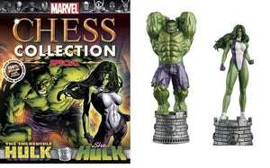 Marvel Chess Figure Collector Magazine Special #1 Hulk & She-Hulk