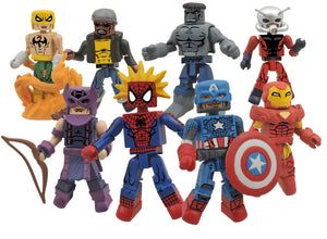 Marvel Minimates Best of Series 3 - Marvel Now Captain America with Modern Spider-Man