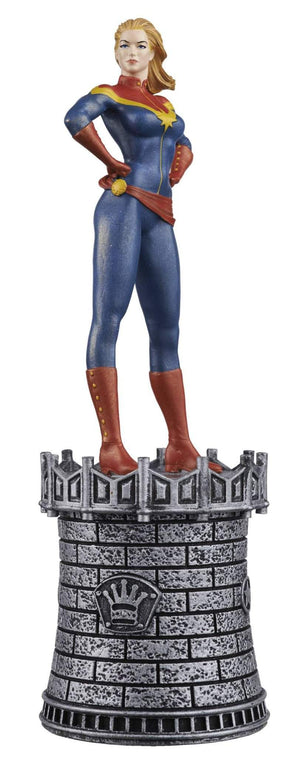 Marvel Chess Figure Collector Magazine #14 Captain Marvel White Queen