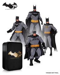 Batman 75th Anniversary Action Figure 4 Pack Set 2