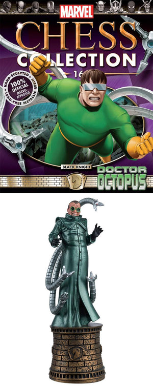 Marvel Chess Figure Collector Mag #16 Doctor Octopus Black Knight