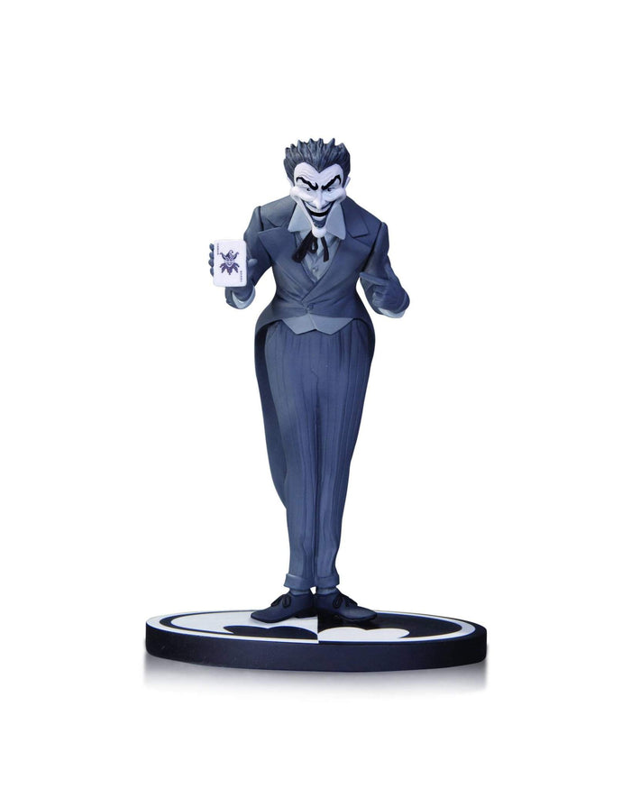 Batman Black & White Statue Joker By Dick Sprang