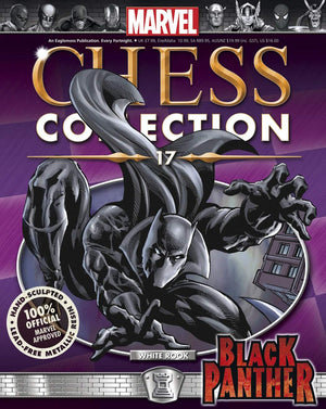 Marvel Chess Figure Collector Magazine #17 Black Panther White Rook