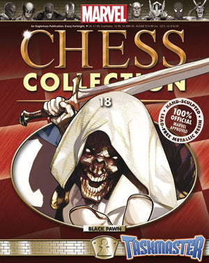 Marvel Chess Figure Collector Magazine #18 Taskmaster Black Pawn