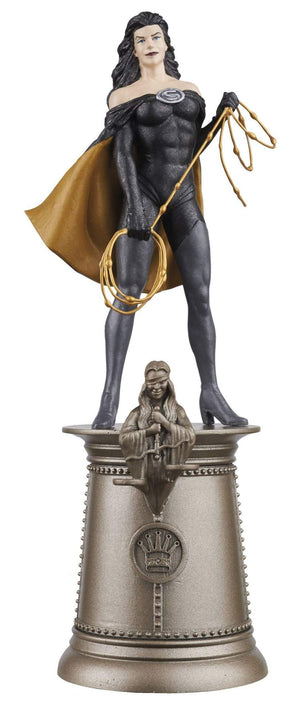 DC Superhero Chess Fig Collector Magazine #69 Superwoman Black Queen
