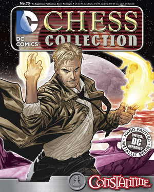 DC Superhero Chess Fig Collector Magazine #70 Constantine White Pawn