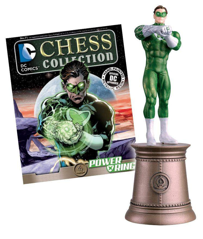 DC Superhero Chess Fig Coll Mag #71 Power Ring Black Bishop