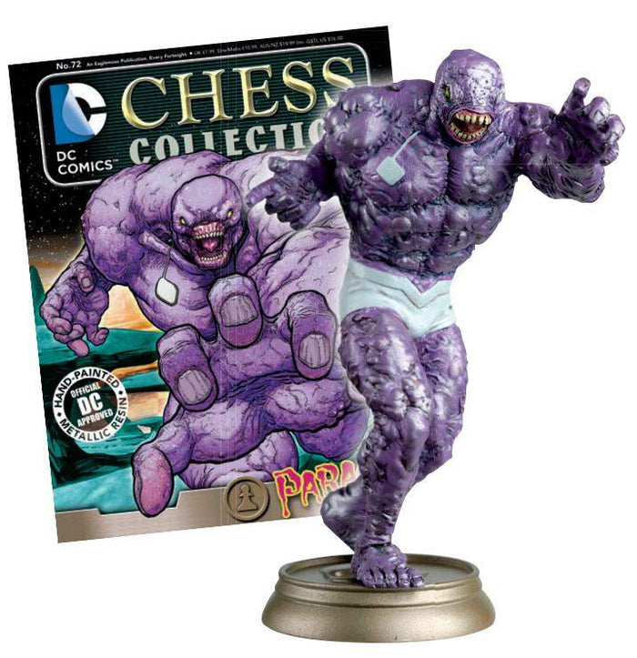 DC Superhero Chess Fig Coll Mag #72 Parasite Black Pawn
