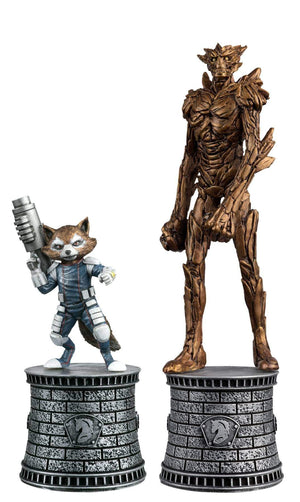 Marvel Chess Fig Collectors Magazine Special #2 Rocket Raccoon & Groot