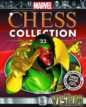 Marvel Chess Fig Collectors Magazine #23 Vision White Rook