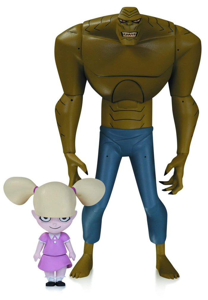 Batman Animated Killer Croc With Baby Doll