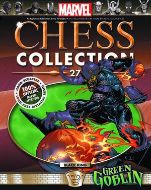Marvel Chess Figure Collector Magazine #27 Green Goblin Black King