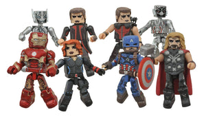 Marvel Minimates Ser 61 Asst Avengers 2 Ultron - Iron Man with Black Widow