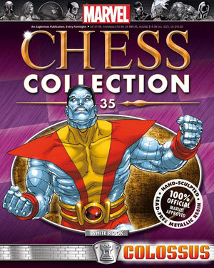 Marvel Chess  #35 Colossus White Rook