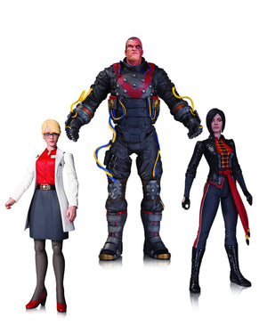 Arkham Origins Electrocutioner Lady Shiva Harleen Quinzell  3 Pack