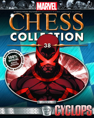 Marvel Chess Figure #38 Cyclops White King