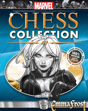 Marvel Chess Figure #47 Emma Frost White Queen