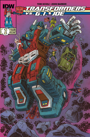 Transformers Vs Gi Joe Tp Vol 02