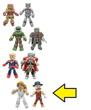 Marvel Minimates Series 64 Secret Wars - A-Force, Dazzler and Howard the Duck