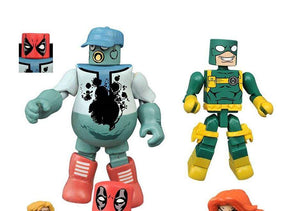 Marvel Minimates Series 65 Deadpool - Mascot Deadpool and Bob the Hydra Goon
