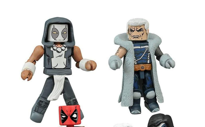 Marvel Minimates Series 65 Deadpool - Zenpool and Messiah Complex Cable